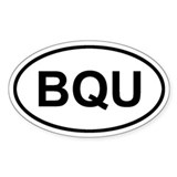 Bequia, BQU Decal