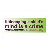 Parental Alienation Postcards (Package of 8)