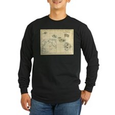 Antique Hawaii Map T