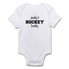 Daddy's Hockey Buddy Onesie