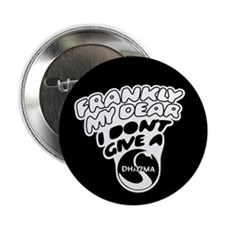 "Don't Give a Dharma 2.25"" Button (10 pack)"