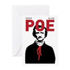 Edgar Allan Poe - Greeting Card