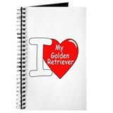 I Love My Golden Retriever Journal