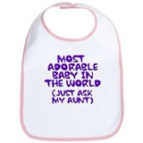 most adorable baby in the world Bib