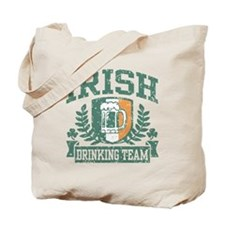 Irish Drinking Team Tote Bag