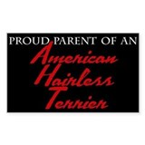 Proud Parent Sticker (Square-Black)