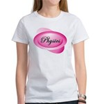 Pink Physics Oval Women's T-Shirt