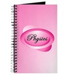 Pink Physics Oval Journal