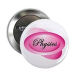 Pink Physics Oval Button