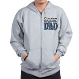 Cocker Spaniel DAD Zip Hoody