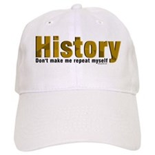 Brown Repeat History Baseball Cap