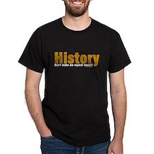 Brown Repeat History T-Shirt