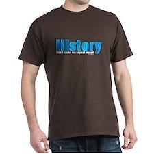 Blue Repeat History T-Shirt