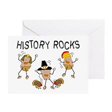 History Rocks Greeting Card