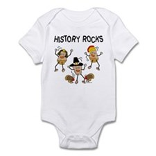 History Rocks Infant Bodysuit