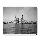 USS Nevada Ship's Image Mousepad