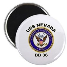 USS Nevada BB 36 Magnet