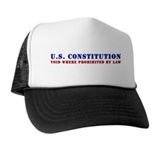 Cute Us constitution Trucker Hat
