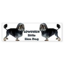 Little Lion Dog Bumper Bumper Sticker
