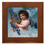 Stardust Angel : Framed Tile