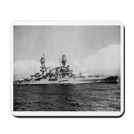 USS Pennsylvania Ship's Image Mousepad