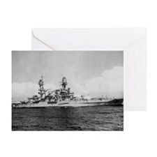 USS Pennsylvania Ship Greeting Cards (Pk of 10)