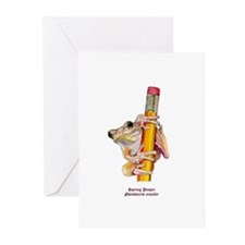 Spring Peeper Greeting Cards (Pk of 10)