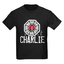 I Heart Charlie - LOST Kids Dark T-Shirt