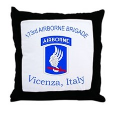 173rd ABN BDE Throw Pillow