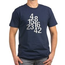 Eroded LOST Numbers T