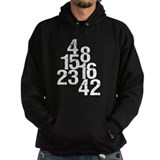 Eroded LOST Numbers Hoodie