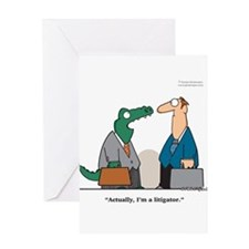 Litigator Greeting Card