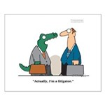 Litigator Small Poster