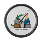 Litigator Large Wall Clock