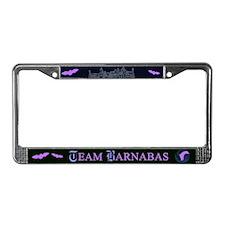 Team Barnabas Color License Plate Frame