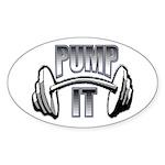 Pump it Sticker (Oval)