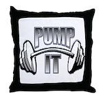 Pump it Throw Pillow