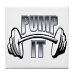 Pump it Tile Coaster