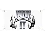 Pump it Banner
