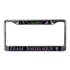 Team Angelique Color License Plate Frame