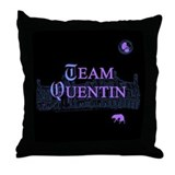 Team Quentin Color Throw Pillow
