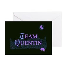Team Quentin Color Greeting Cards (Pk of 10)