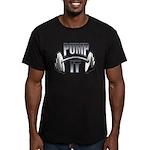 Pump it Men's Fitted T-Shirt (dark)