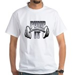 Pump it White T-Shirt
