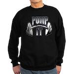 Pump it Sweatshirt (dark)
