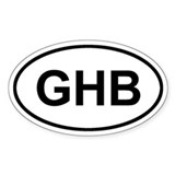 Governors Harbour, Eleuthera, GHB Decal