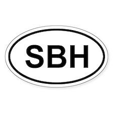 St. Barthelemy SBH Decal
