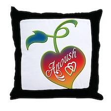 Anoush Heart Throw Pillow