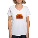 Anguilla Women's V-Neck T-Shirt