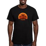 Anguilla Men's Fitted T-Shirt (dark)